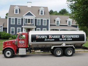 Shawn Harris Delivery Truck